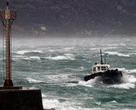 «Ιανός»: Ισχυρές καταιγίδες και θυελλώδεις άνεμοι σήμερα