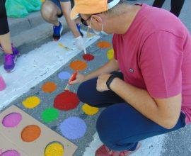 """Δήμος Γρεβενών: Μικροί και μεγάλοι χρωμάτισαν διαβάσεις πεζών για την """"Ευρωπαϊκή Εβδομάδα Κινητικότητας 2020"""""""