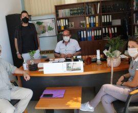 Σύσκεψη στο Δημαρχείο Φαρκαδόνας για την κατάληψη που έκαναν οι μαθητές του ΕΠΑΛ