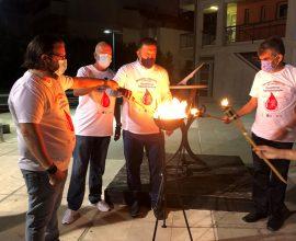 Η φλόγα της αγάπης, της προσφοράς και της αλληλεγγύης στο Παλαιό Φάληρο