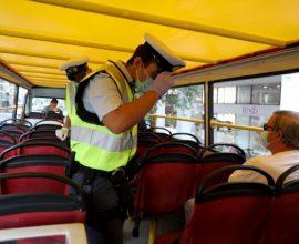 Κορονοϊός: Εννέα παραβάσεις λειτουργίας καταστημάτων και 193 για μη χρήση μάσκας