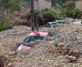 «Ιανός»: Τα μέτρα στήριξης στους πληγέντες του κυκλώνα
