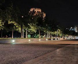 Δήμος Θεσσαλονίκης: Νέος φωτισμός – νέα όψη στην καρδιά της πόλης