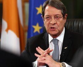 Στις Βρυξέλλες μεταβαίνει αύριο ο Ν. Αναστασιάδης