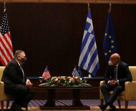 Οι μάσκες έπεσαν, κοινή δήλωση Ελλάδας-ΗΠΑ: «Ιστορική η Συμφωνία των Πρεσπών»