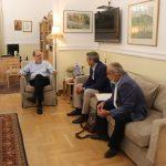 Ο Περιφερειάρχης Πελοποννήσου συζήτησε για ύδρευση και αποχέτευση Ναυπλίου και Αργους