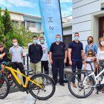 Δήμος Ασπρόπυργου: Έκθεση Ηλεκτρικού Ποδηλάτου  στο Ρολόι της πόλης