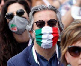 Νέο ρεκόρ κρουσμάτων στην Ιταλία – 1.912 τα περιστατικά