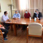 Συνάντηση Κουτσούμπα με τον Δήμαρχο Καρδίτσας Β. Τσιάκο