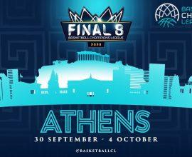 Στήριξη της Περιφέρειας Αττικής στην ευρωπαϊκή διοργάνωση «2020 Basketball Champions League Final 8»