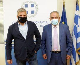 Συνάντηση του Περιφερειάρχη Αττικής με τον Πρόεδρο του Επαγγελματικού Επιμελητηρίου Αθηνών