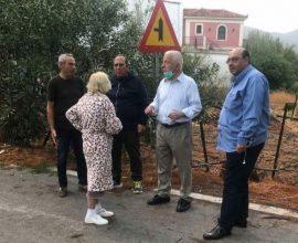 Περιφέρεια Β. Αιγαίου: Στην πληγείσα περιοχή της Καλλονής ο Κ. Μουτζούρης