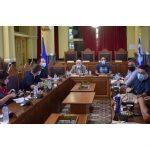 Επίσκεψη Αντιπροσωπείας των Ευρωβουλευτών της Ευρωομάδας της Αριστεράς στον Περιφερειάρχη Β. Αιγαίου