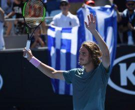 Τένις: Σταθερά 6ος στον κόσμο ο Τσιτσιπάς