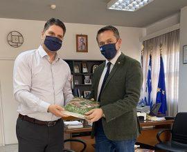 Επίσκεψη του Βουλευτή Π. Μαντά στον Δήμαρχο Μεσσήνης