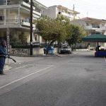 Συνεχίζει τις απολυμάνσεις ο Δήμος Κοζάνης