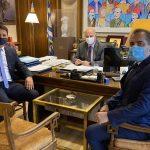 Επίσκεψη Δημάρχων Μεσσήνης-Καλαμάτας στον Υπουργό Δικαιοσύνης