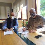Δήμος Δίου: Υπογράφηκε η σύμβαση για τον εκσυγχρονισμό του αθλητικού κέντρου Νέας Εφέσου