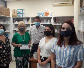 Ο Δήμος Ηρακλείου Αττικής δώρισε φάρμακα στους Γιατρούς του Κόσμου