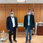 Συνάντηση Δημάρχου Περάματος με τον Διευθύνοντα Σύμβουλο των Κτιριακών Υποδομών (ΚτΥπ Α.Ε.)
