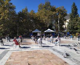 Δήμος Σερρών: Τεστ κορονοϊού στην πλατεία Ελευθερίας Σερρών