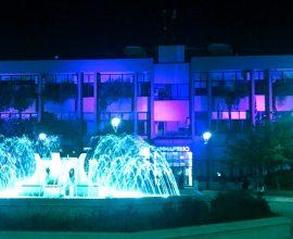 Ο Δήμος Κατερίνης στην πρωτοβουλία «Φωτίζουμε την Ευρώπη με το Μπλε των Ηνωμένων Εθνών»
