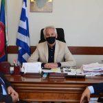 Επίσκεψη προέδρου Ένωσης Αποστράτων Αξιωματικών Στρατού στον Δήμαρχο Ξάνθης
