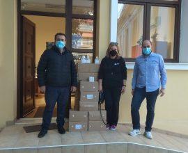 Δήμος Κατερίνης:  Δωρεά υγειονομικόυ υλικού του σωματείου ADRA Ελλάς διατίθεται στα σχολεία