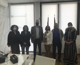 """Συνάντηση του Δήμαρχου Κατερίνης με μέλη της Συντονιστικής Επιτροπής Ομάδας Πρωτοβουλίας Πολιτών """"I can't breathe"""""""