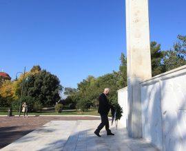 Δήμαρχος Λαρισαίων: «Δεν ξεχνάμε. Ποτέ ξανά φασισμός»