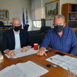Συναντήσεις εργασίας του Αντιπεριφερειάρχη Αν. Αττικής με τους Δημάρχους Παλλήνης, Μαρκοπούλου και Σαρωνικού