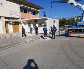 Δήμος Ιωαννιτών: Τοποθετήθηκε η νέα αίθουσα στο 28ο Νηπιαγωγείο