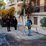 Aυτοψία Δημάρχου Πειραιά σε έργα ασφαλτοστρώσεων που ολοκληρώνονται στη Β΄ Δημοτική Κοινότητα