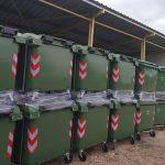 Ο Δήμος Ν. Σκουφά παρέλαβε 68 νέους κάδους απορριμμάτων