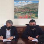 Δήμος Βοΐου: Προχωρά η ανάπλαση του πάρκου στην περιοχή του Αγ. Γεωργίου στον οικισμό της Δαμασκηνιάς