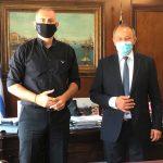 Συνάντηση Δημάρχου Πειραιά με τον Δήμαρχο Τροιζηνίας-Μεθάνων