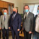 Επίσκεψη Γ.Γ. Γραμματέα Δικαιοσύνης στον Δήμο Μαρώνειας – Σαπών