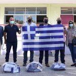 Στα γαλανόλευκα ο Δήμος Ελληνικού-Αργυρούπολης δωρίζοντας από μία σημαία στους μαθητές