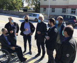 Συνάντηση Δημάρχου Μουζακίου με τον Διοικητή της 5ης ΥΠΕ