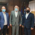 Συνάντηση Δημάρχου Διδυμοτείχου με τον ΥΠΕΣ Τ. Θεοδωρικάκο