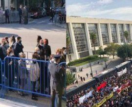 ΜΜΕ σε υπηρεσία: Ανακάλυψαν συνωστισμό στον Άγιο Δημήτριο που εξαφάνισαν στο Εφετείο