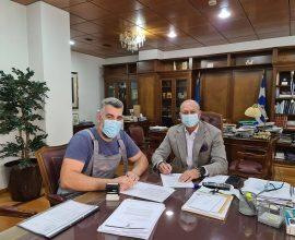 Δήμος Λουτρακίου: Εργασίες στο Πνευματικό Κέντρο Λουτρακίου, λόγω της παλαιότητας του κτηρίου