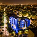 Το Δημαρχείο Ιλίου φωτίζεται με το Μπλε των Ηνωμένων Εθνών