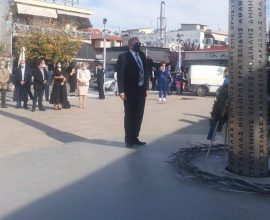 Με κάθε επισημότητα τιμήθηκε ο Αγ. Δημήτριος και η Eπέτειος της 28ης Οκτωβρίου στον Δήμο Θέρμης