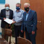 Περιφέρεια Κρήτης: Υπογραφές για το σύστημα πυρόσβεσης στην Αγία Τριάδα