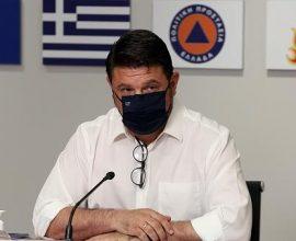 Κορονοϊός: Έκτακτη ενημέρωση από Χαρδαλιά για Θεσσαλονίκη, Ροδόπη, Λάρισα