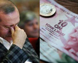 Νέα κατάρρευση της τουρκικής λίρας- Βράζει η τουρκική κοινωνία
