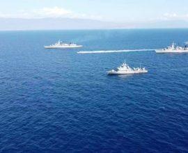 Ασπίδα προστασίας στο Καστελόριζο από τον Ελληνικό Στόλο- Που βρίσκεται το Oruc Reis