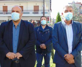 Τρισάγιο και κατάθεση στεφάνου στον ανδριάντα του Εθνομάρτυρα Αιμιλιανού Γρεβενών