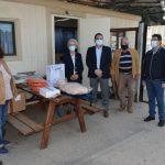 Απινιδωτές και εκπαιδευτικό υλικό προσέφερε ο Δήμος στο Περιφερειακό Τμήμα Καλαμάτας του Ε.Ε.Σ.